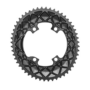 AbsoluteBLACK Premium Oval Shimano 4 Bolt Outer Chainring