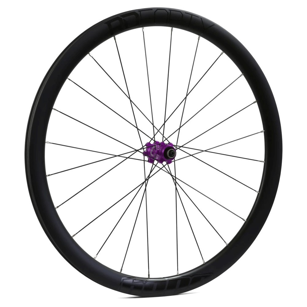 Hope Technology RD40 Carbon Clincher Centre Lock Disc Front Wheel