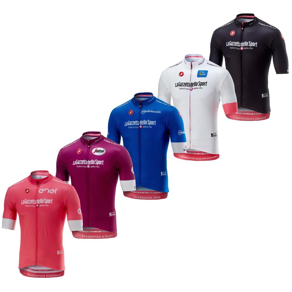 3e05d1cda Castelli Giro d Italia Squadra Short Sleeve Jersey ...
