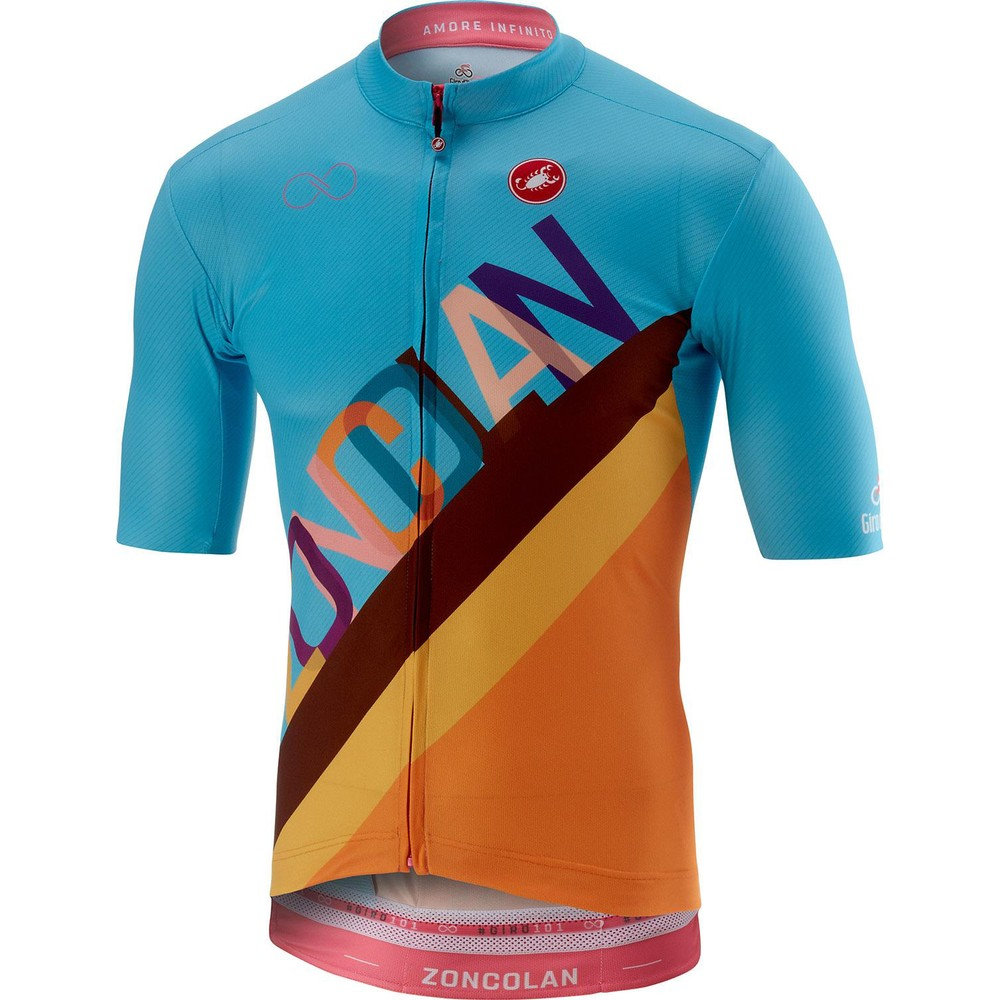 Castelli Giro d'Italia Zoncolan Stage Short Sleeve Jersey