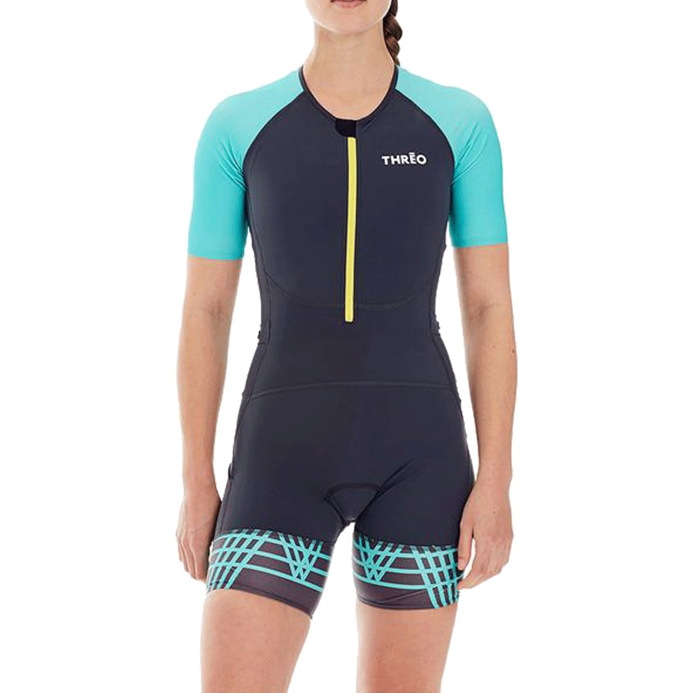 Threo Womens Short Sleeve Trisuit