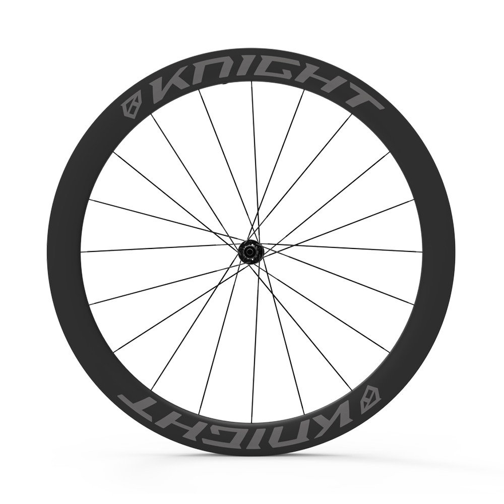 Knight Composites 50 Tubeless Aero Carbon Clincher DT 240 Wheelset