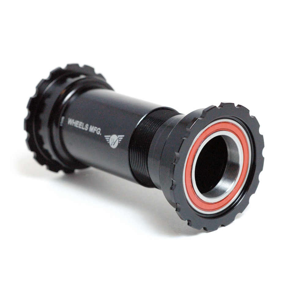 Wheels Manufacturing PressFit 30 Threaded Angular Contact Bottom Bracket