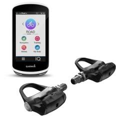 Garmin Edge 1030 GPS + Vector 3 Double Sided Power Meter Bundle