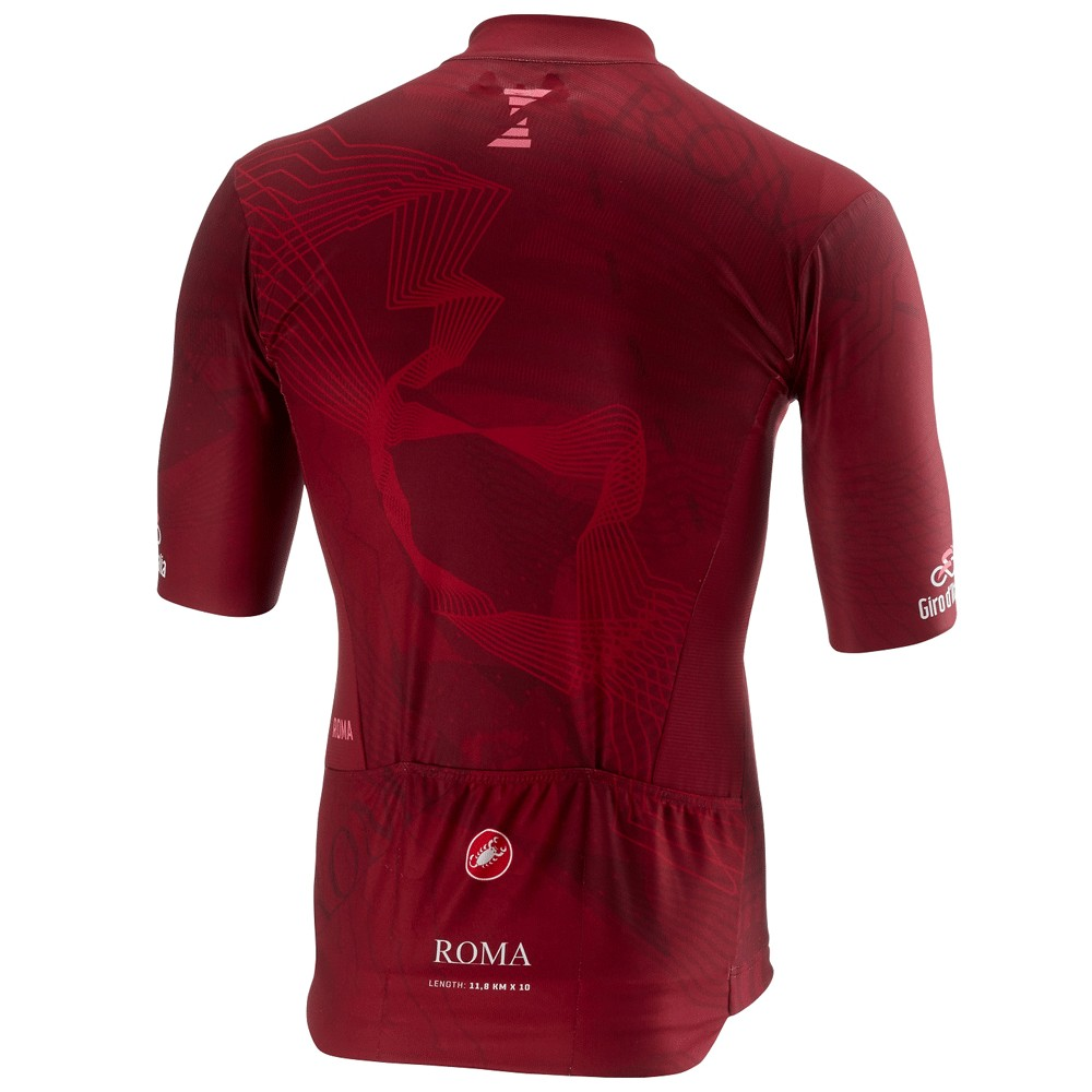 Castelli Giro d'Italia Roma Stage Short Sleeve Jersey
