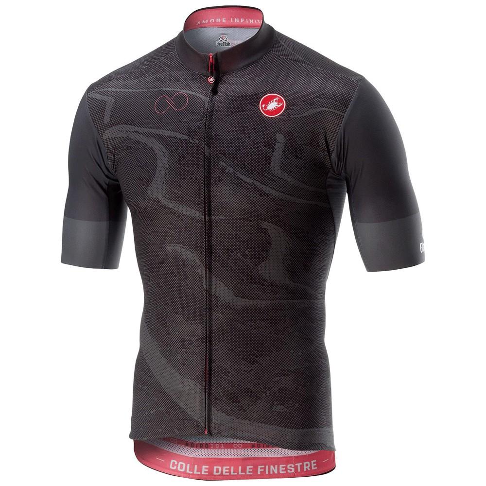Castelli Giro d'Italia Finestre Stage Short Sleeve Jersey
