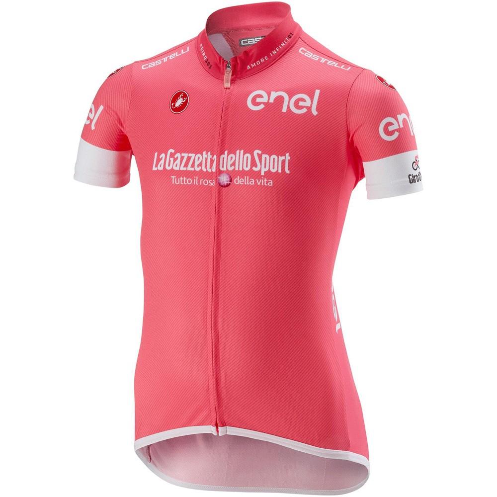d0891707d Castelli Giro d Italia Kids Short Sleeve Jersey ...