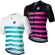 Attaquer All Day Faded Stripe Short Sleeve Jersey