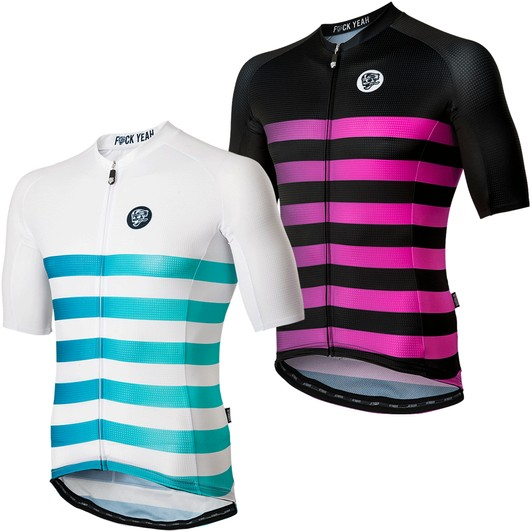 70478eb52 Attaquer All Day Faded Stripe Short Sleeve Jersey