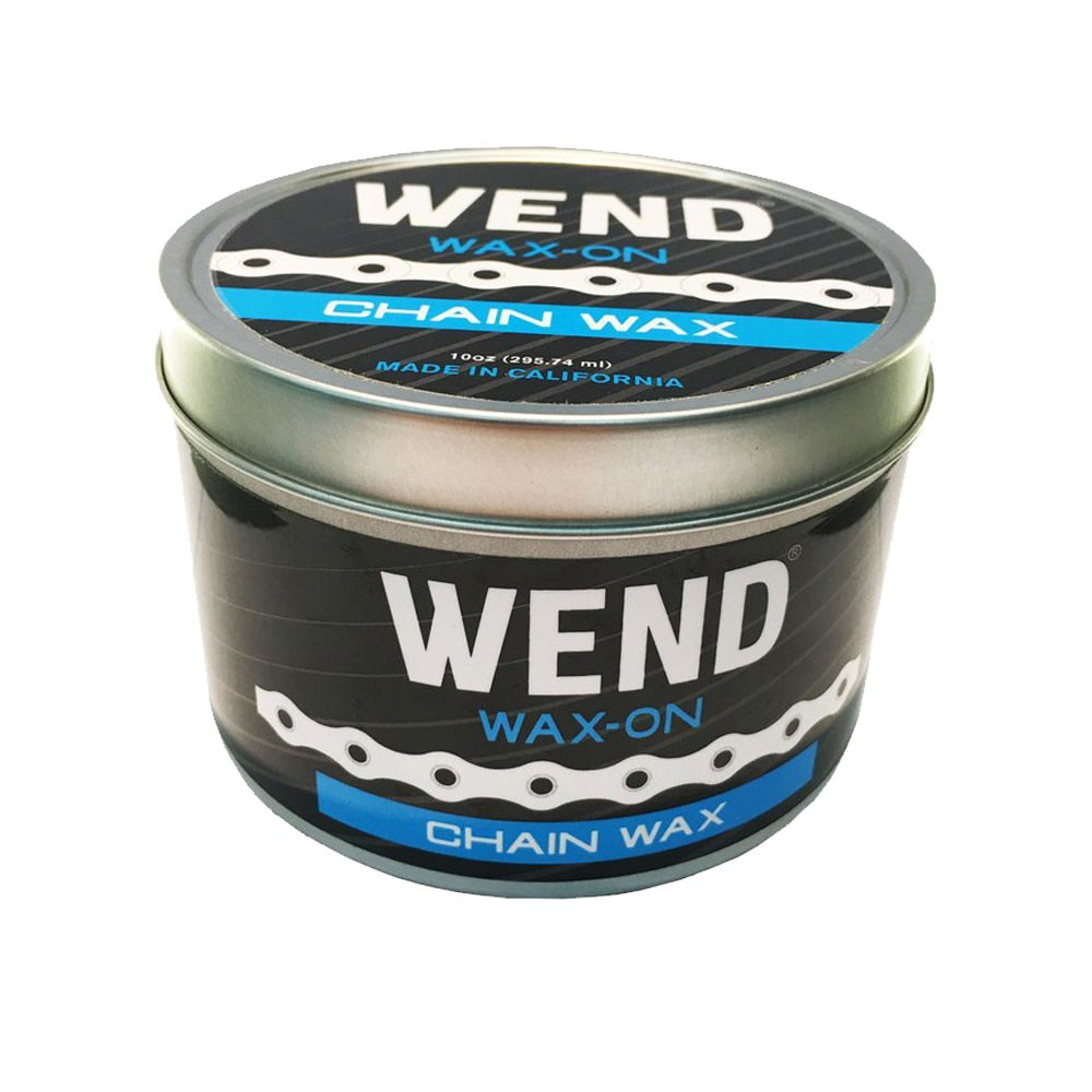 Wend Wax-On Chain Lube 10oz Bulk Paste Tin