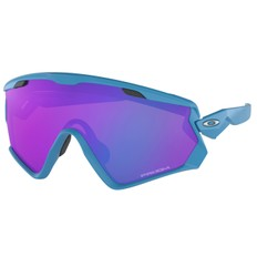 Oakley Wind Jacket Sunglasses with Prizm Sapphire Lens