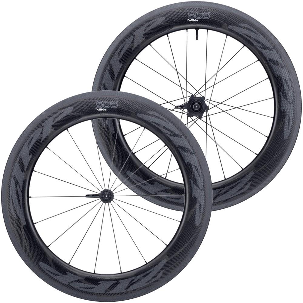 Zipp 808 NSW Tubeless Carbon Clincher Wheelset 2019