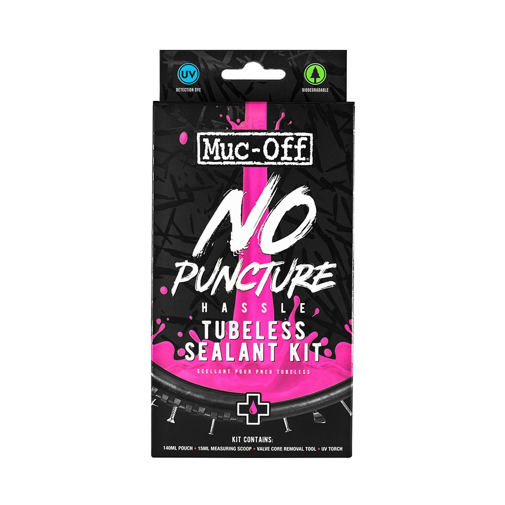 Muc-Off No Puncture Hassle Tubeless Sealant Kit 140ml