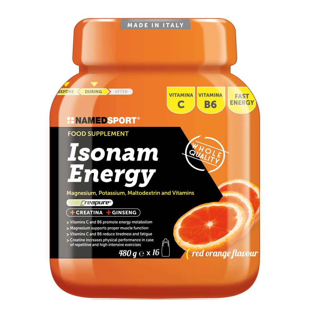 NAMEDSPORT Isonam Energy Mix 480g