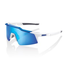 100% Speedcraft SL Sunglasses with HiPER Blue Mirror Lens