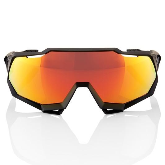 2146e0eebc23 ... 100% Speedtrap Sunglasses HiPER Red Mirror Lens ...