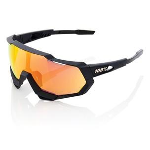100% Speedtrap Sunglasses HiPER Red Mirror Lens