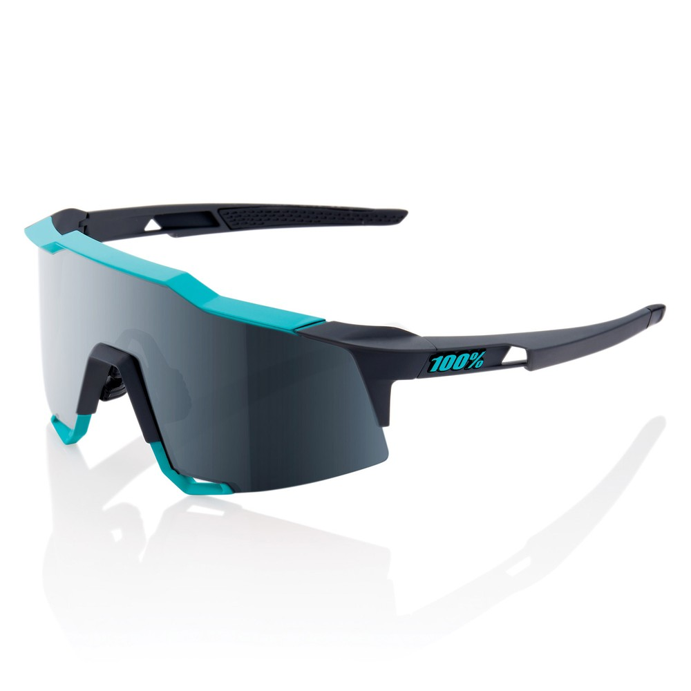 100% Speedcraft Sunglasses With Black Mirror Lens