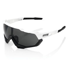 100% Speedtrap Sunglasses Smoke Lens