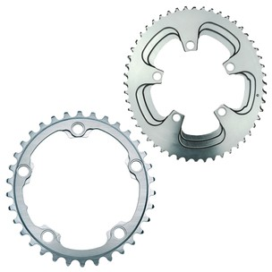 AbsoluteBLACK Road Oval Winter 110BCD X5 Chainring