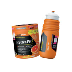 NAMEDSPORT HydraFit 400g with Water Bottle