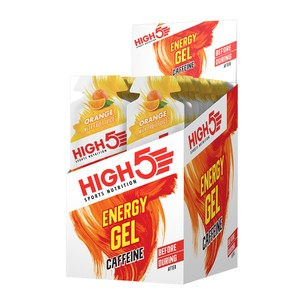 High5 Energy Gel Plus With Caffeine Box Of 20 X 40g