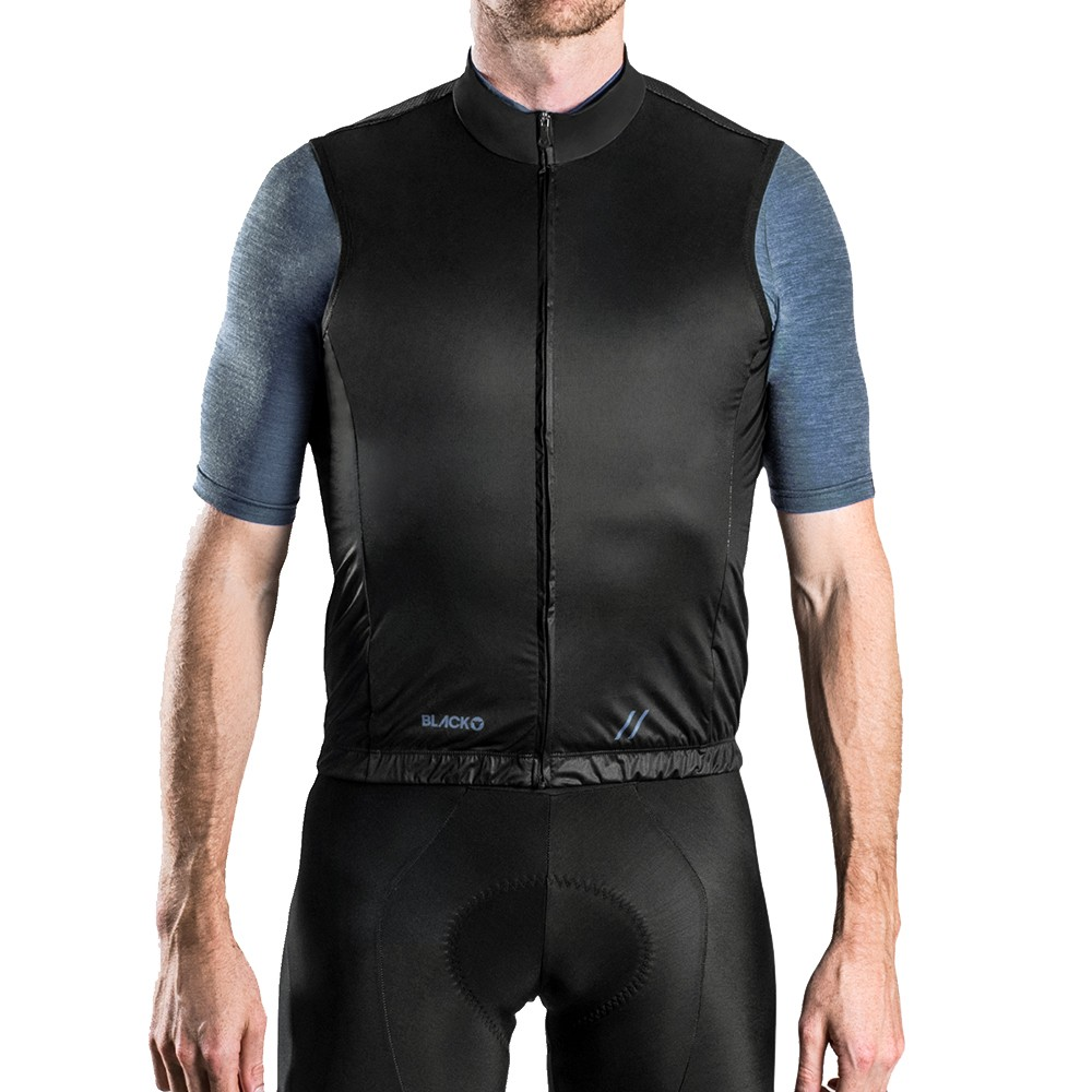 Black Sheep Cycling Euro Collection Logo Gilet