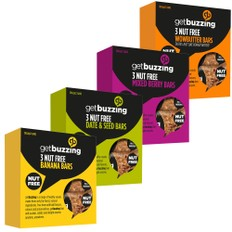 GetBuzzing Energy Bar 3 Pack
