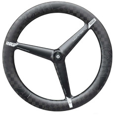 Pro Textreme Carbon 3 Spoke Tubular Front Wheel