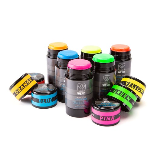 Wend Wax-On Coloured Chain Lube 80ml