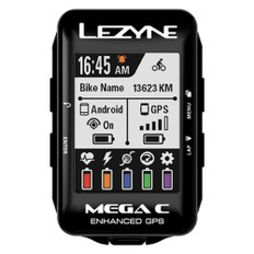 Lezyne Mega C GPS Computer Loaded Bundle