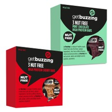 GetBuzzing Protein Bar 3 Pack