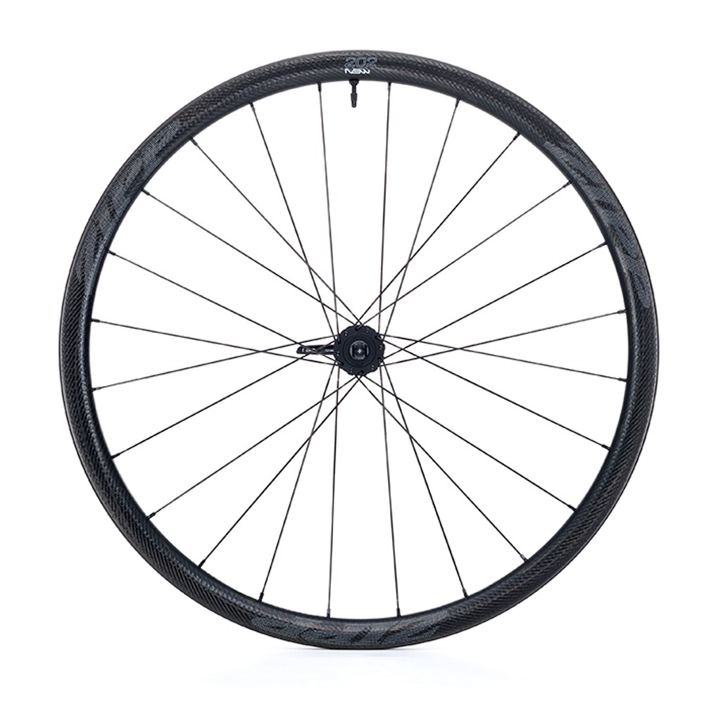 Zipp 202 NSW Carbon Clincher Tubeless Centre Lock Disc Front Wheel 2019