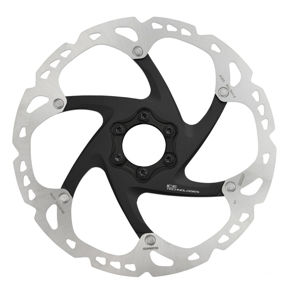 Shimano SM-RT86 XT Ice-Tec 6-bolt Disc Brake Rotor 180mm