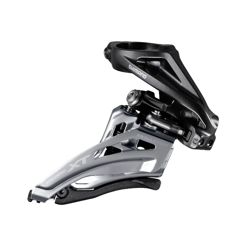 Shimano M8020-H XT Double Front Derailleur - High Clamp Side Swing