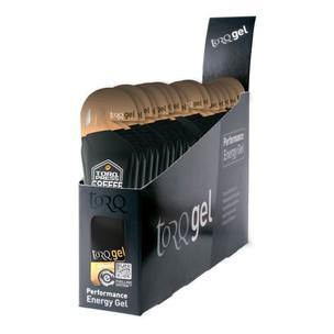TORQ Energy Gel With Guarana Caffeinated Box Of 15 X 45g Gels