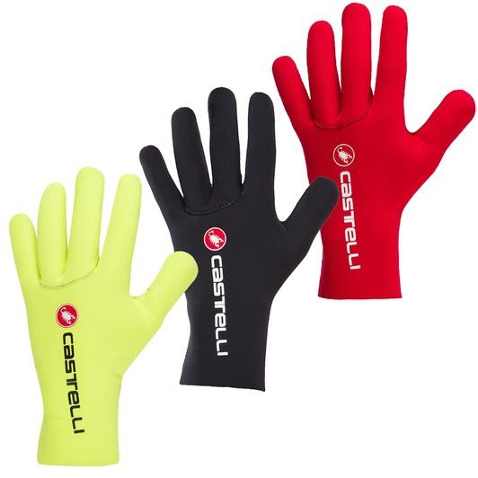 Castelli DILUVIO C Neoprene Winter Full-Finger Cycling Gloves RED