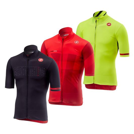 Castelli Mid Weight Short Sleeve Jersey ... 52510084c