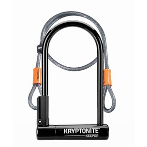Kryptonite Keeper 12 Standard + Flex Sold Secure Silver