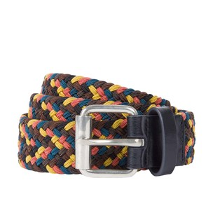 Paul Smith Mens Elastic Plait Belt