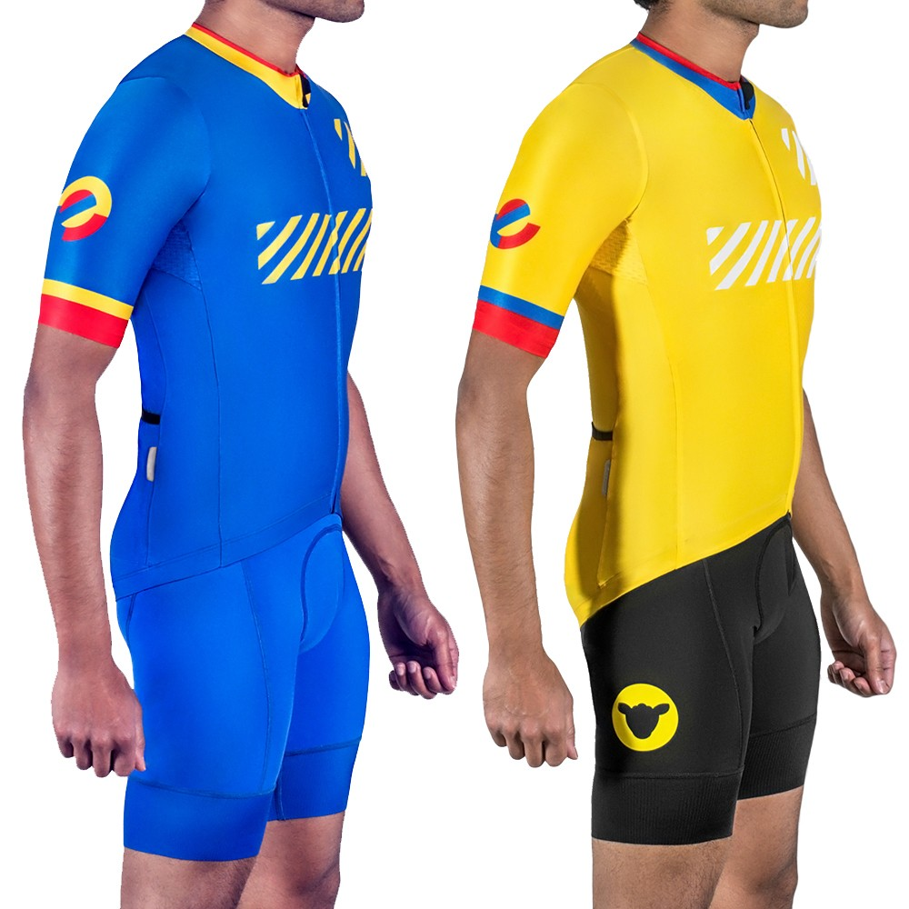 Black Sheep Cycling Los Cafeteros Colombia Short Sleeve Jersey