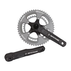 Verve Cycling InfoCrank Classic 110BCD 24mm Power Meter Crank Set