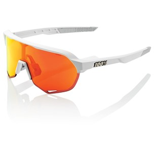 100% S2 Sunglasses With HiPER Red Mirror Lens