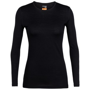 Icebreaker Oasis Long Sleeve Base Layer Womens Crew