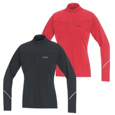 Gore Wear R3 Womens Thermo Long Sleeve Zipped Running Shirt