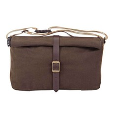 Brompton Waxed Canvas Roll Top Bag & Frame