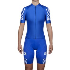 Black Sheep Cycling We Got Game Just Primary Blue Womens Full Kit