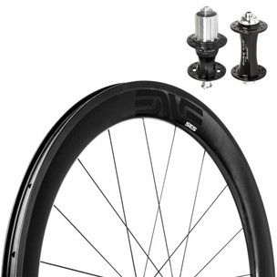 ENVE 5.6 SES Tubeless Carbon Clincher Ceramic King R45 Wheelset