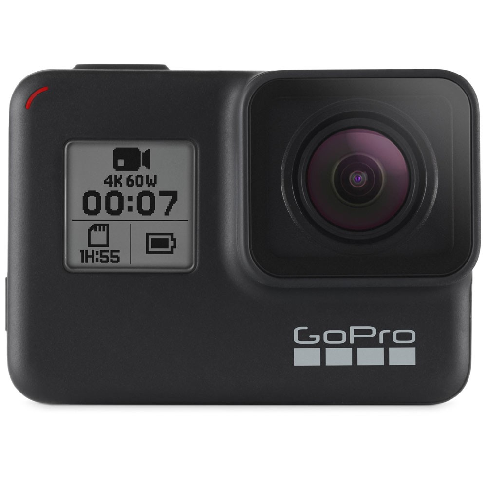 GoPro HERO7 Black Action Camera + SD Card