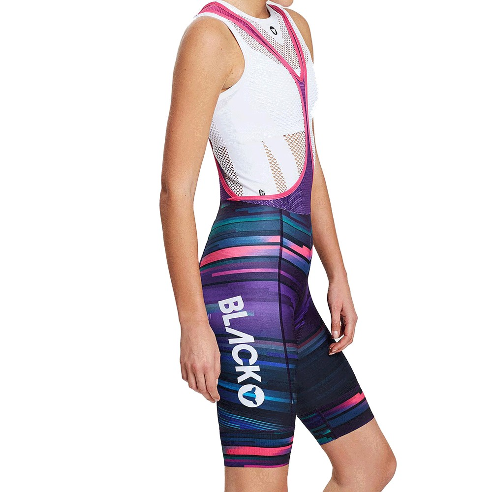Black Sheep Cycling Chaos Collection 2.0 Womens Bib Short